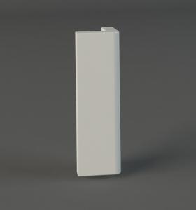 Для отделки углов наиболее часто используется плоский угол. Он подходит к большинству плоских изразцов