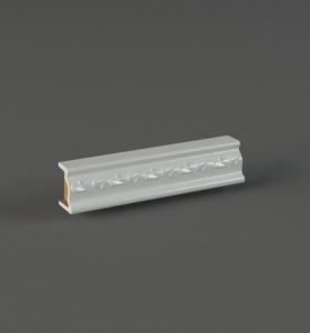 Узкий бордюр это отдельный элемент изразцовой отделки