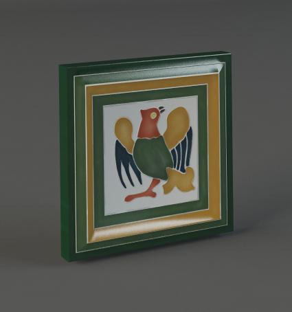 Изразец Орел